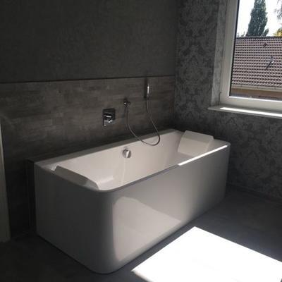 Sanierte Badewanne